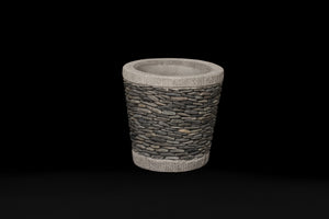 Small Riverstone Pot