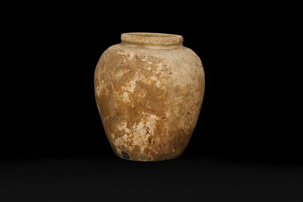 18th Cent. Borneo Storage Jar from Excavated Site