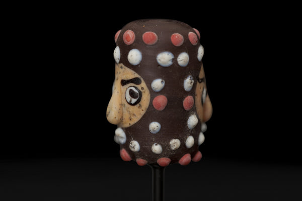Mounted Head Bead from Borneo