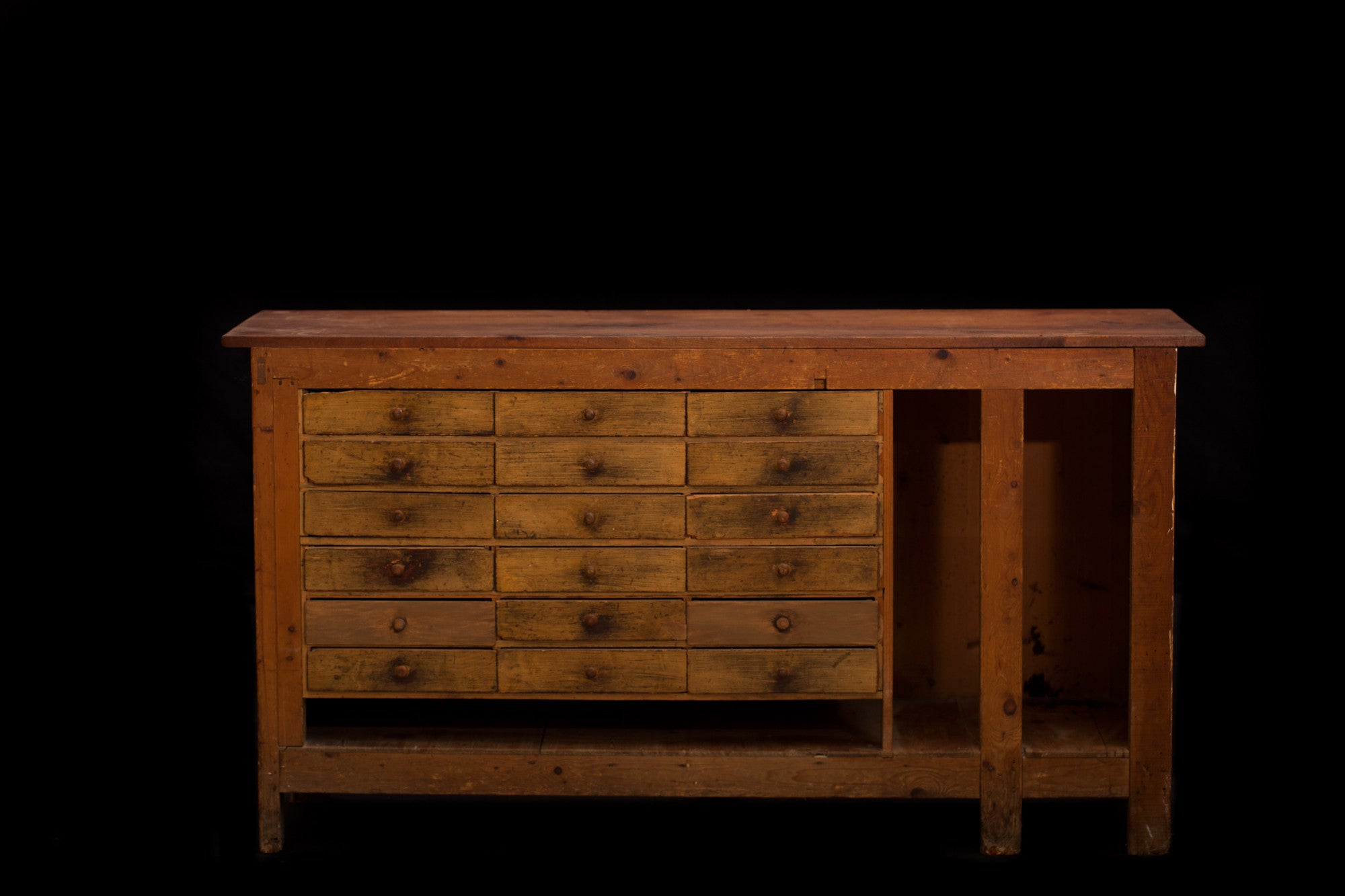 Mid 19th Century French Store Counter