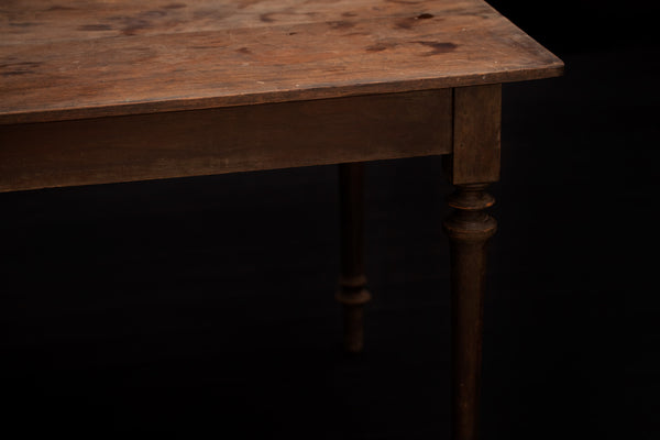 19th Century Dutch Colonial Teak Dining Table