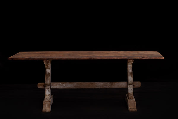 Pine French Trestle Table