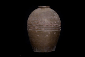 19th Century Large Grey Thai Jar