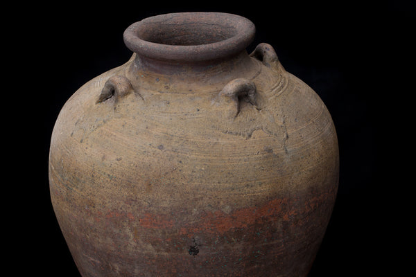 Early 19th Century Large Borneo Pot