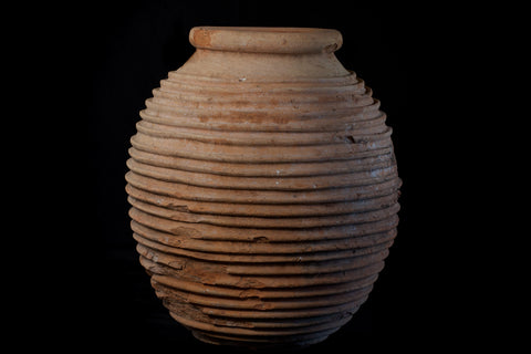 Extra Large 18th Century Peloponnesian Terra Cotta Olive Oil Jar