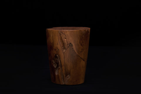 Tapered Teak Stool