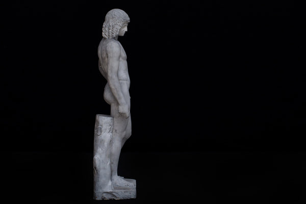 19th Century Plaster Figure of a Greek Athlete