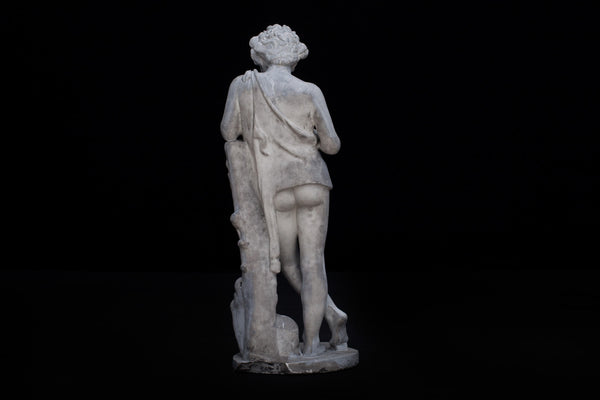 19th Century Plaster Figure of Pan