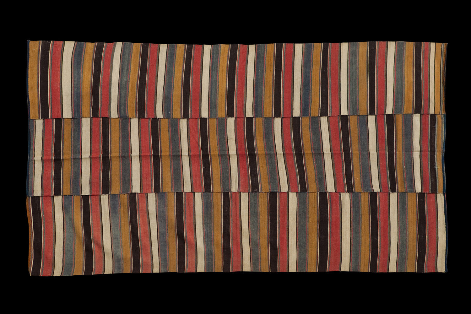 Sevas Fine Woven Large Stripe Carpet