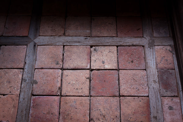 18th & 19th Century Burgundy Terracotta Tiles