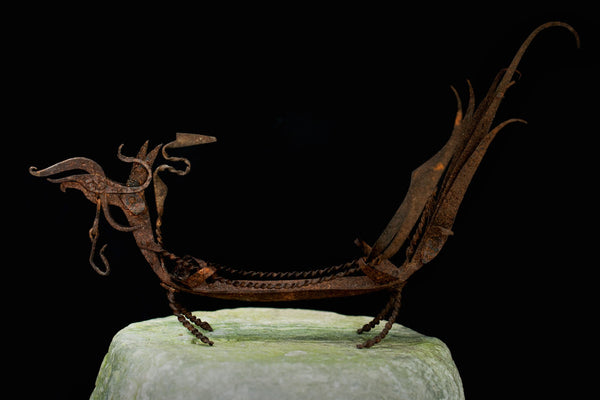 Iron Ceremonial Chicken from Sumatra