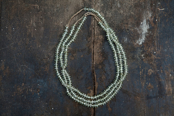 Light Green Miniature Borneo Trade Beads