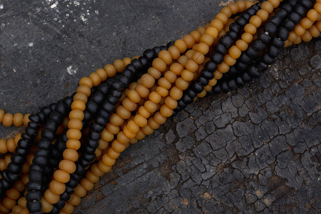 Glass Borneo Trade Beads