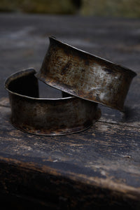 Silvered Nickel Cuffs from Timore