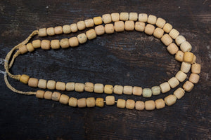 Light Yellow Borneo Trade Beads