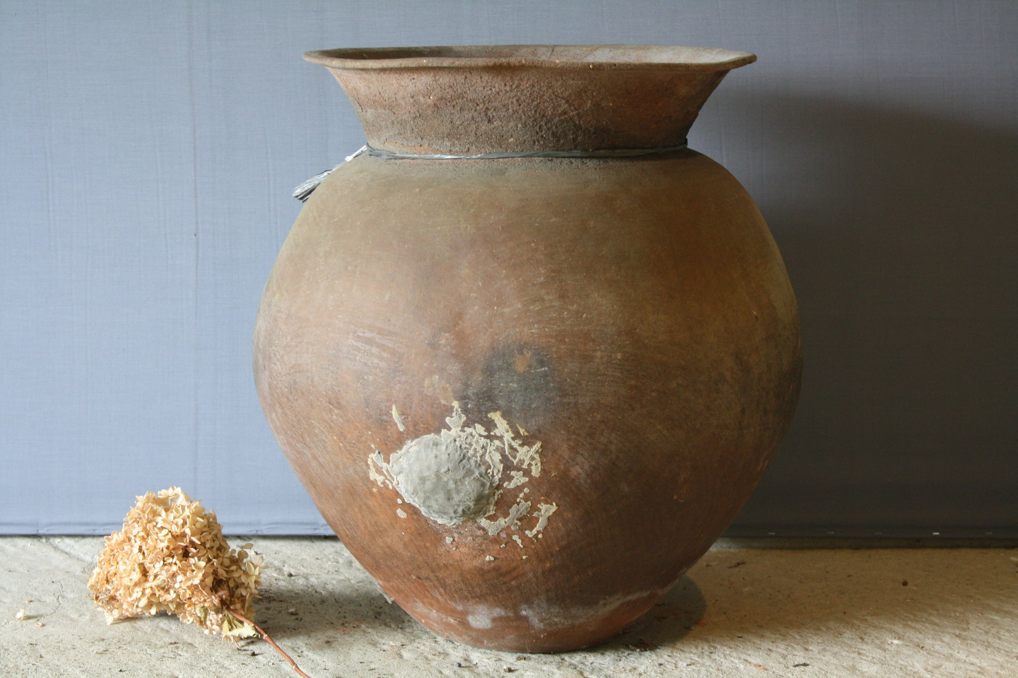 Large Terra Cotta Oil Jar