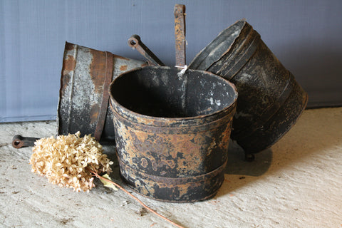 19th Century French Iron Pots