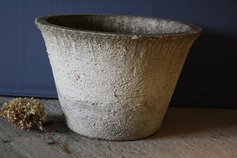 Large French Stucco Pot