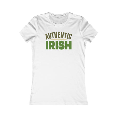 Authentic Irish St Patrick's Day Women's Favorite Tee