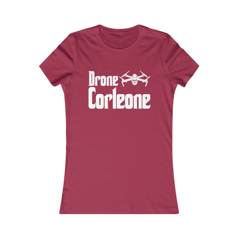 Drone Corleone Logo The Godfather Parody Women's Favorite Tee
