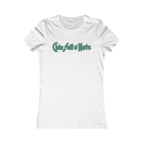Chin Full O Nuts - Chock Full O Nuts Parody Women's Favorite Tee