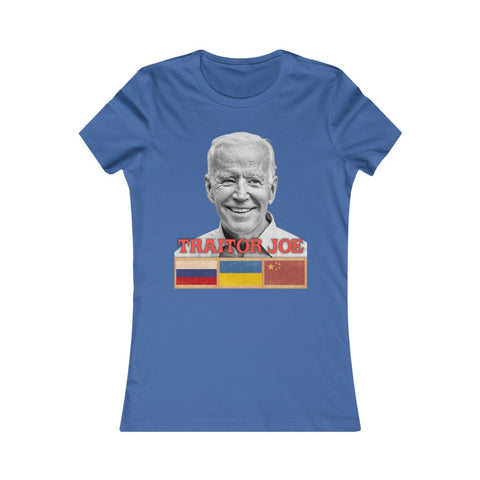 Traitor Joe Biden Parody of Trader Joe's Women's Favorite Tee