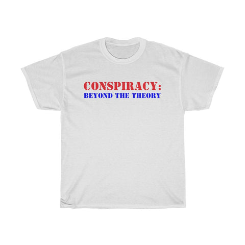 Conspiracy: Beyond The Theory Logo Unisex Heavy Cotton Tee