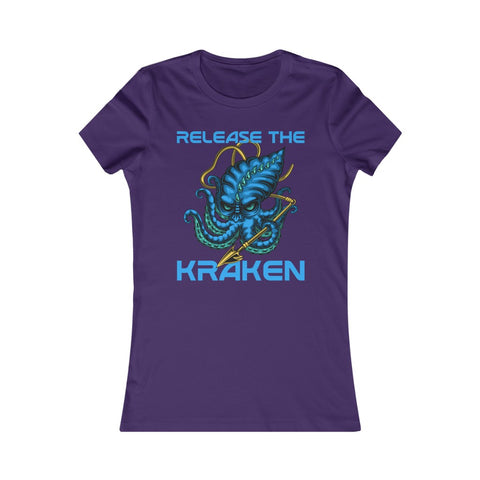 Release The Kraken Women's Favorite Tee