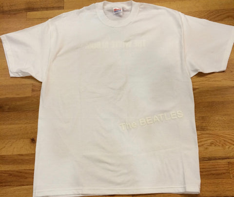 Beatles - White Album Embossed T-Shirt