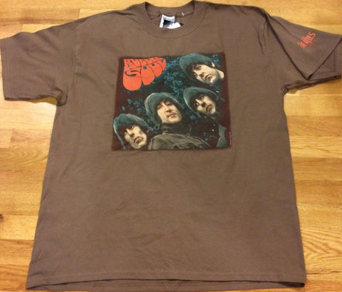 Beatles - Rubber Soul Chocolate T-Shirt