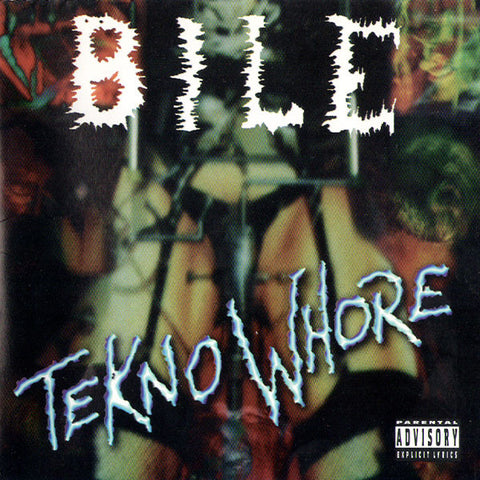 BILE - Tekno Whore CD Autographed by Brett Bile