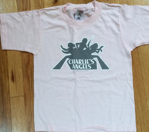 Charlie's Angels - Pink Logo Youth T-Shirt