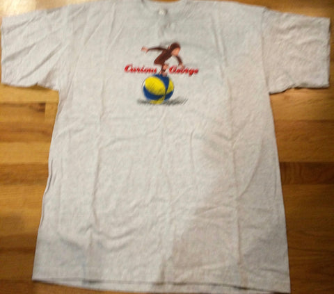 Curious George - Beach Ball T-Shirt Vintage Rare