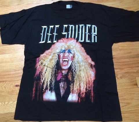 Dee Snider - 2001 European Import Tour T-Shirt