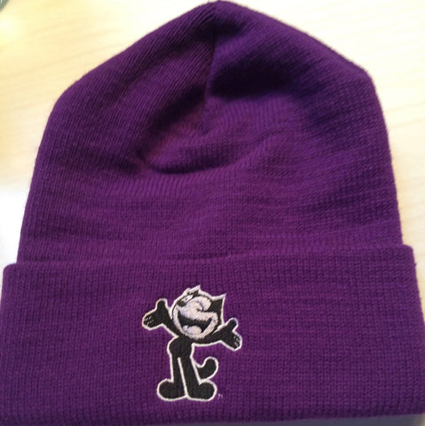 Felix the Cat - Purple Beanie