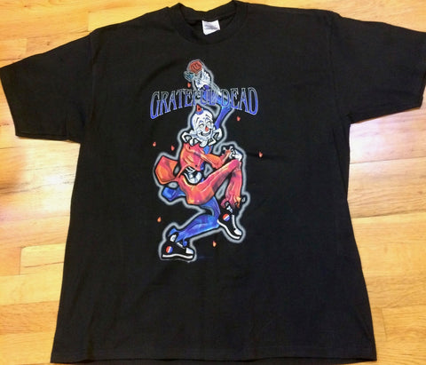Grateful Dead - Clown Jester All Too Clear T-Shirt
