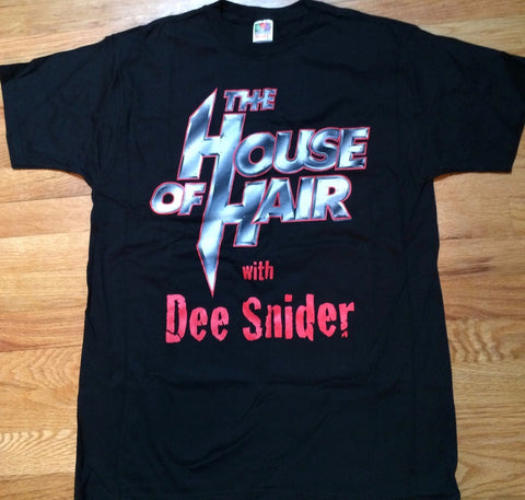 House Of Hair - Dee Snider's House Of Hair T-Shirt - RARE - VINTAGE