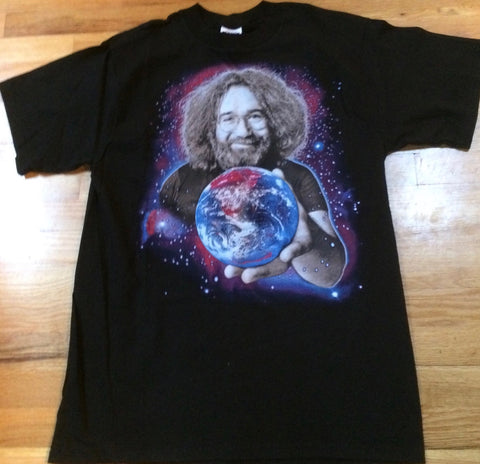 Grateful Dead - Jerry & Stars World To Give T-Shirt