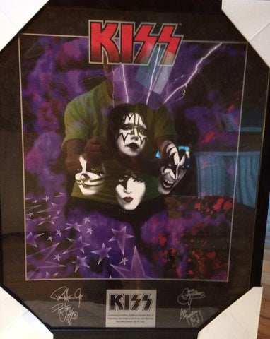 KISS - Framed Poster 16''x20''