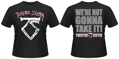 Twisted Sister - VINTAGE We're Not Gonna Take It T-Shirt