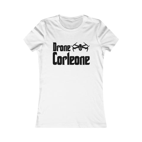 Drone Corleone Logo Godfather Parody Women's Favorite Tee