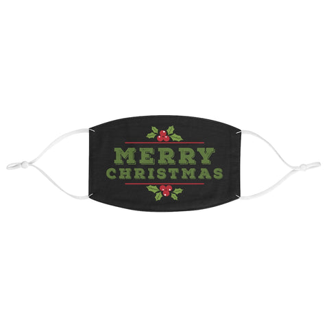 Merry Christmas Mistletoe XMAS Fabric Face Mask