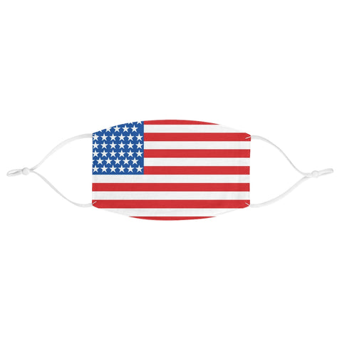 USA Flag United States of America Fabric Face Mask