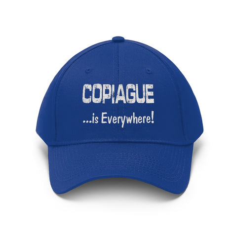 Copiague Long Island NY White Logo Unisex Twill Hat