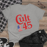Cult 45 President Donald J Trump Women's Heavy Cotton Tee