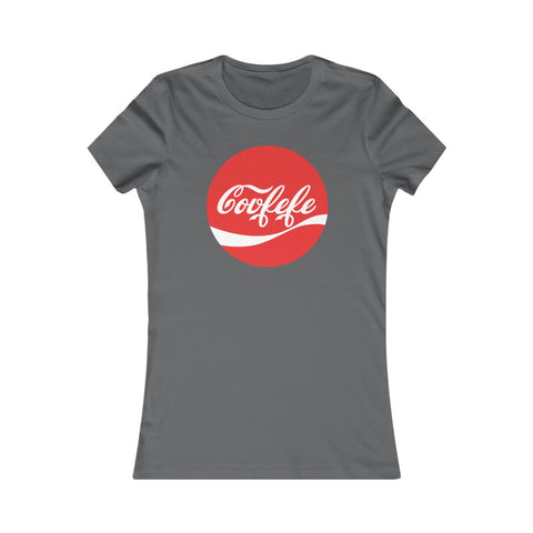 Covfefe Co V Fe Fe President Donald J Trump Coca-Cola Parody Women's Favorite Tee