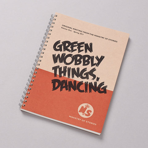 Green Wobbly Things Dancing book photo