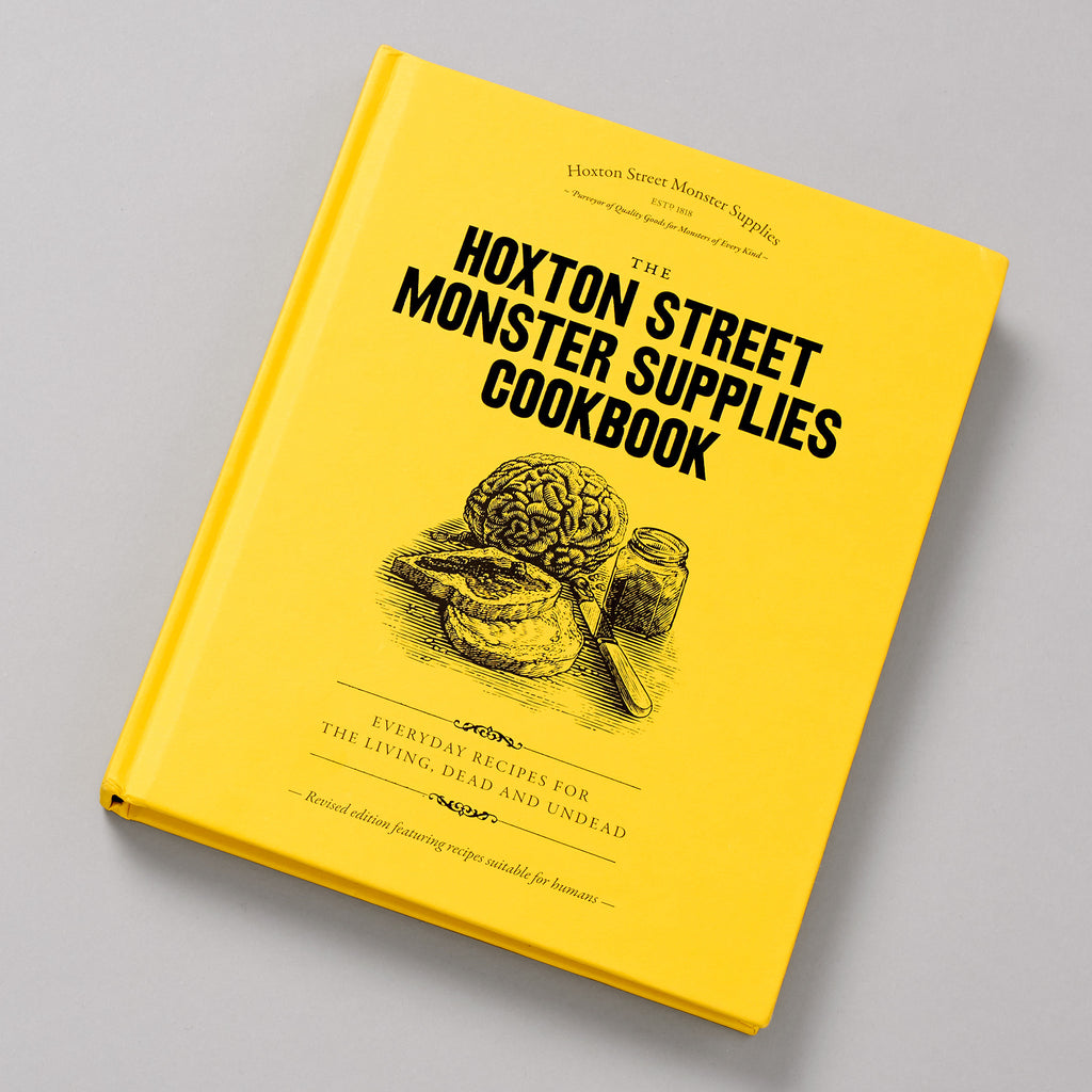 Hoxton Monster Cookbook front image