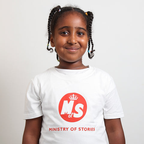 MoS t-shirt children's on model photo