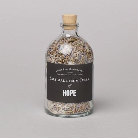 Salt Made from Tears of Hope